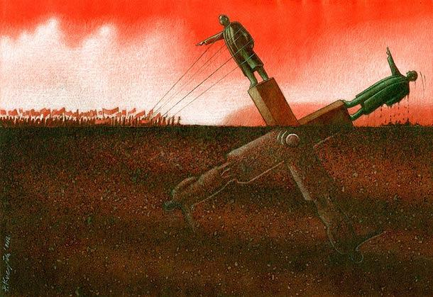Revolutions by Pawel Kuczynski, all rights reserved